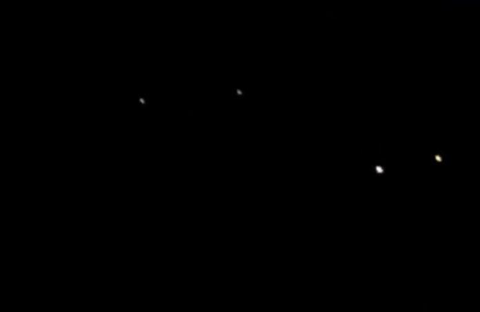 OVNIs durante el huracán Irene