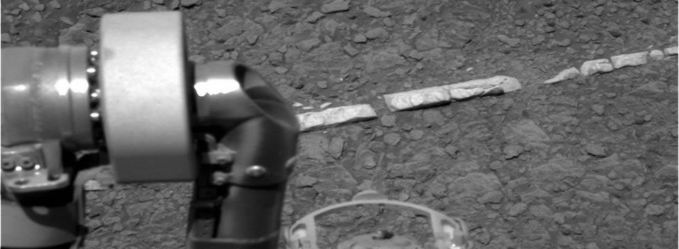 La NASA muestra imágenes de lo que parece ser una calzada en Marte