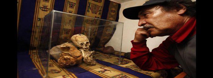 Médicos españoles y rusos afirman que momia hallada en Cusco (Perú) no es humana