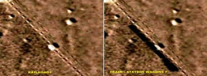 ¿Descubren un ferrocarril en Marte?
