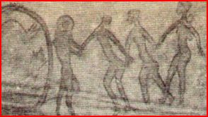 Abducción extraterrestre de mujer primitiva
