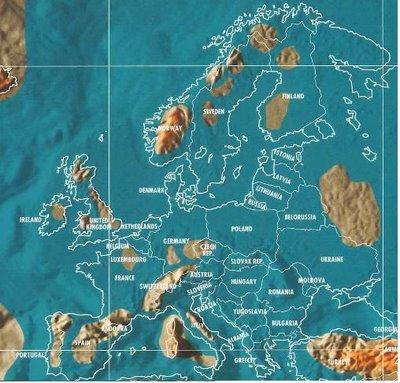 Mapa Europa 2012