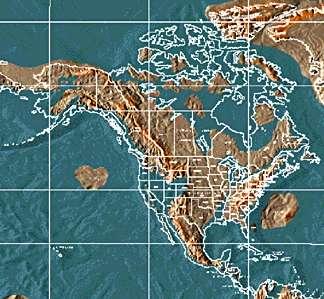 Mapa América del Norte 2012