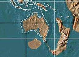 Mapa Oceanía