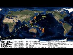 Terremotos en el 2011