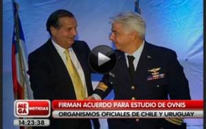 Uruguay y Chile estudiarán OVNIs
