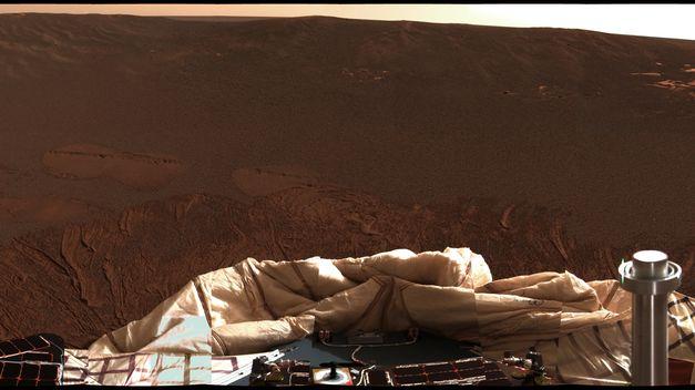 Opportunity-MER-La NASA encuentra evidencias de agua caliente subterránea en Marte
