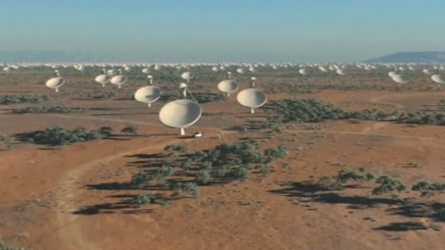 Un proyecto faraónico de radiotelescopios sondeará señales de vida en el universo