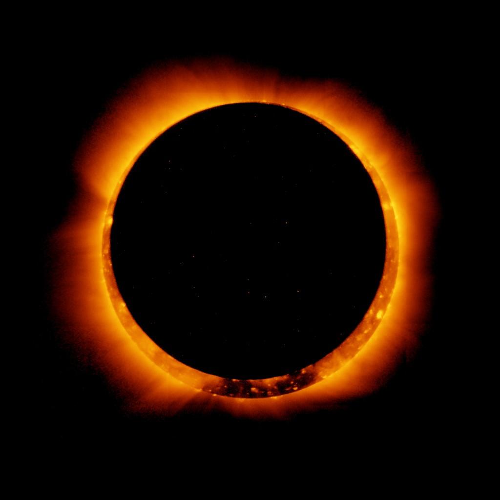 corona-eclipse