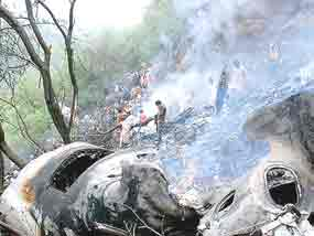 pakistan accidente aereo