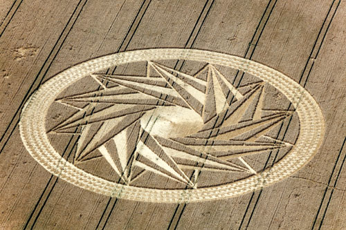 crop circle baviera alemania