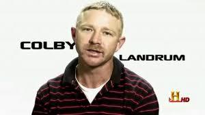 Colby Landrum en History Channel