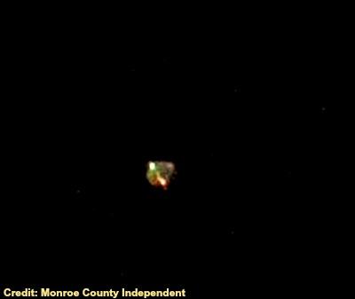 UFO Over Hecker, Illinois
