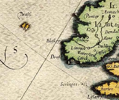 antigua isla hy-brazil