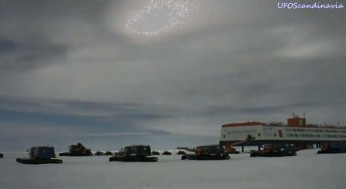 Anomalía en cielo de estación antártica Neumayer III