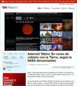 Asteroide 'Nibiru' impactaría la Tierra, según fuente anónimas de la NASA