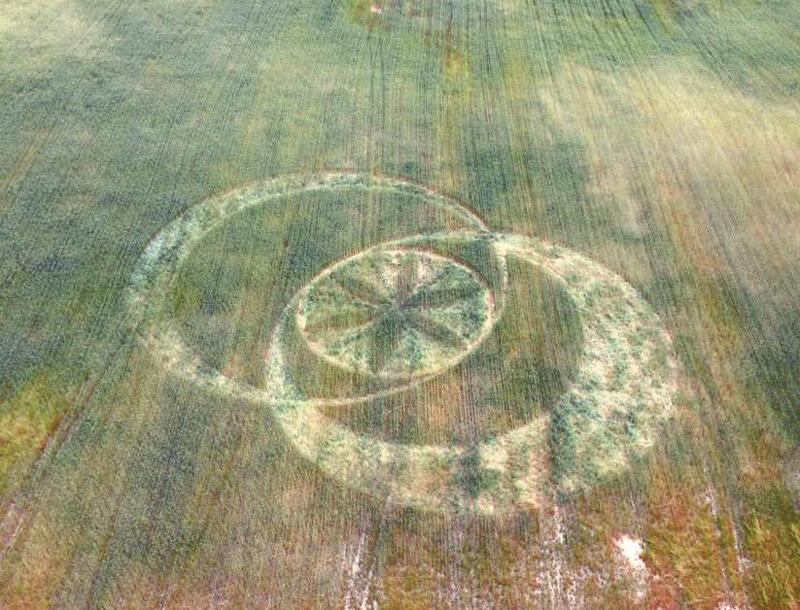 Crop circle en Boorowa, Nueva Gales del Sur