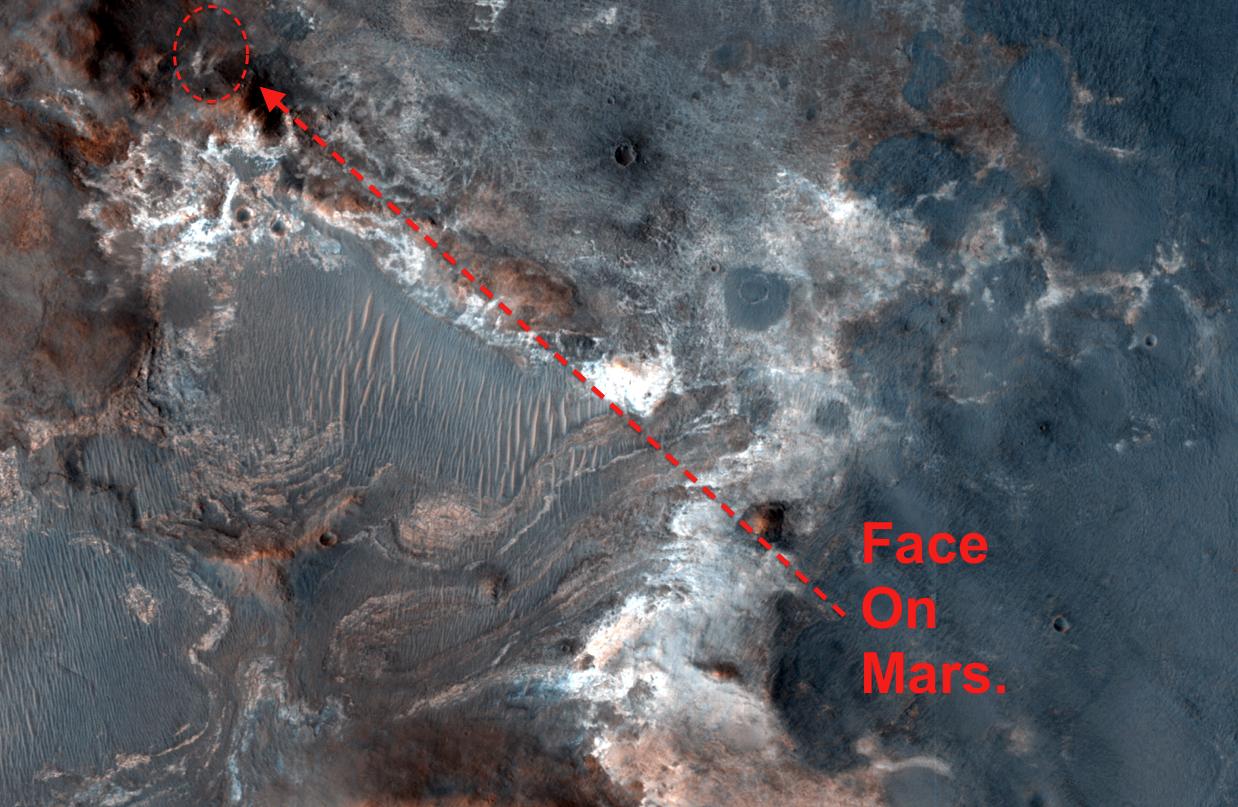 Rostro en Marte