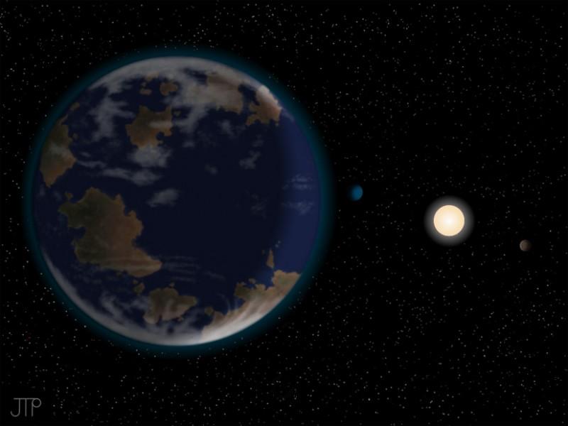 Descubren HD 40307, una supertierra potencialmente habitable y relativamente cerca