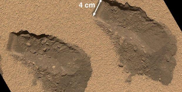 El rover Curiosity encuentra en Marte compuestos químicos y orgánicos