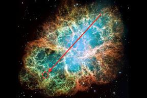 Supuesta base alienígena en Nebulosa del Cangrejo
