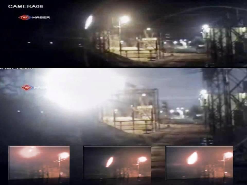 Bola de fuego cae sobre el Mar Muerto en Turquía - 12/12/2012