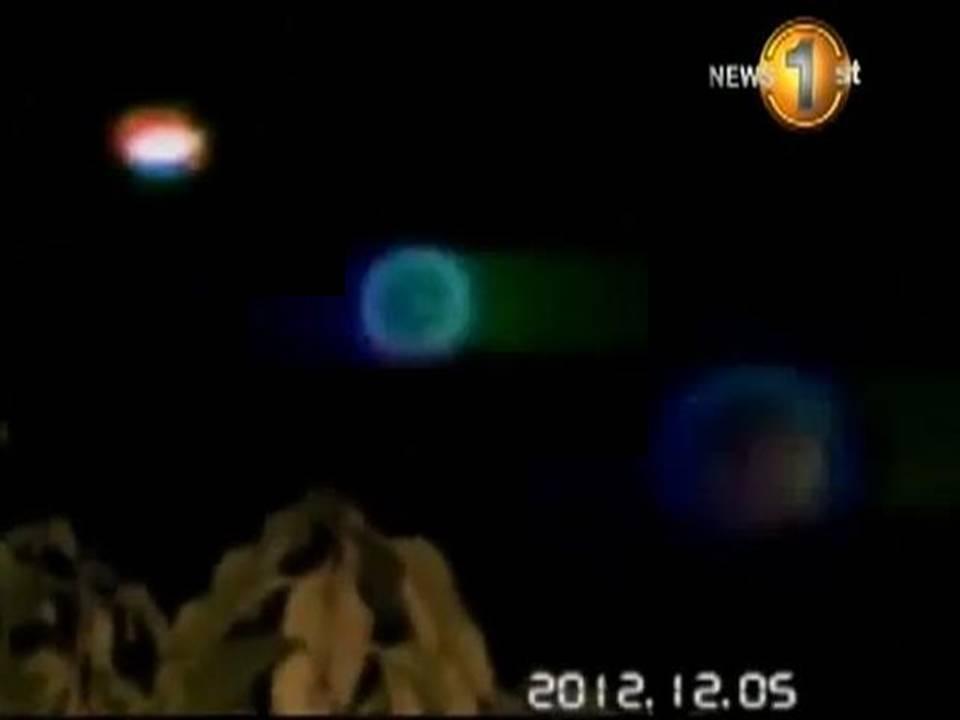 Militares de Sri Lanka en alerta por 24 horas debido a extrañas luces en el cielo