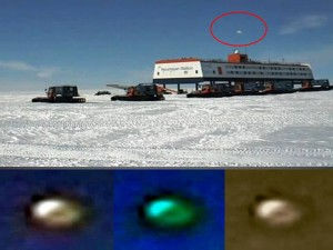 OVNI en estación Neumayer - Antártida