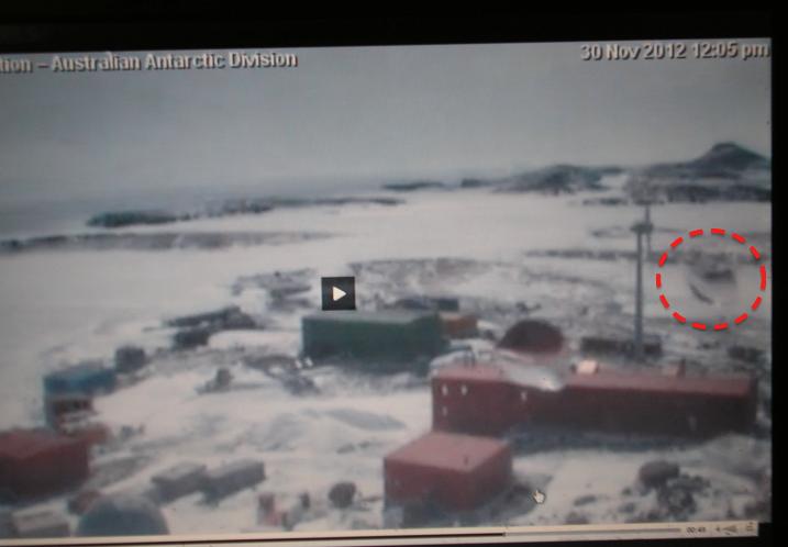 OVNI en la Antártida