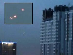 OVNIS sobre San Petersburgo, Rusia