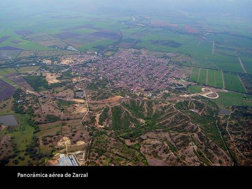 Vista panorámica de Zarzal, Valle del Cauca, Colombia