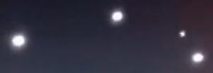 Enormes OVNIS en Miami Florida