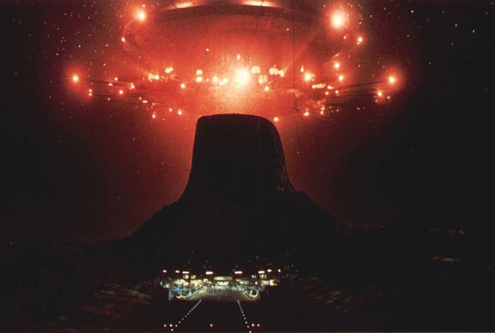 La Torre del Diablo en Close encounters
