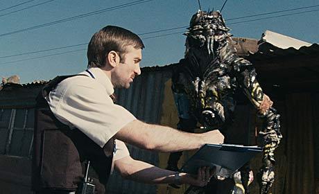 Escena de película District 9