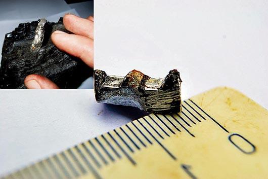 Engranaje de aluminio de 300 millones de años