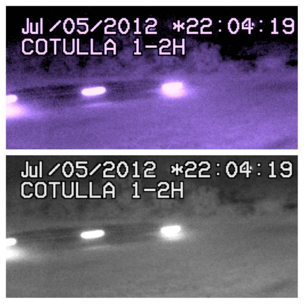 OVNI sobre Cotulla, Texas, es grabado por cámara de vídeo