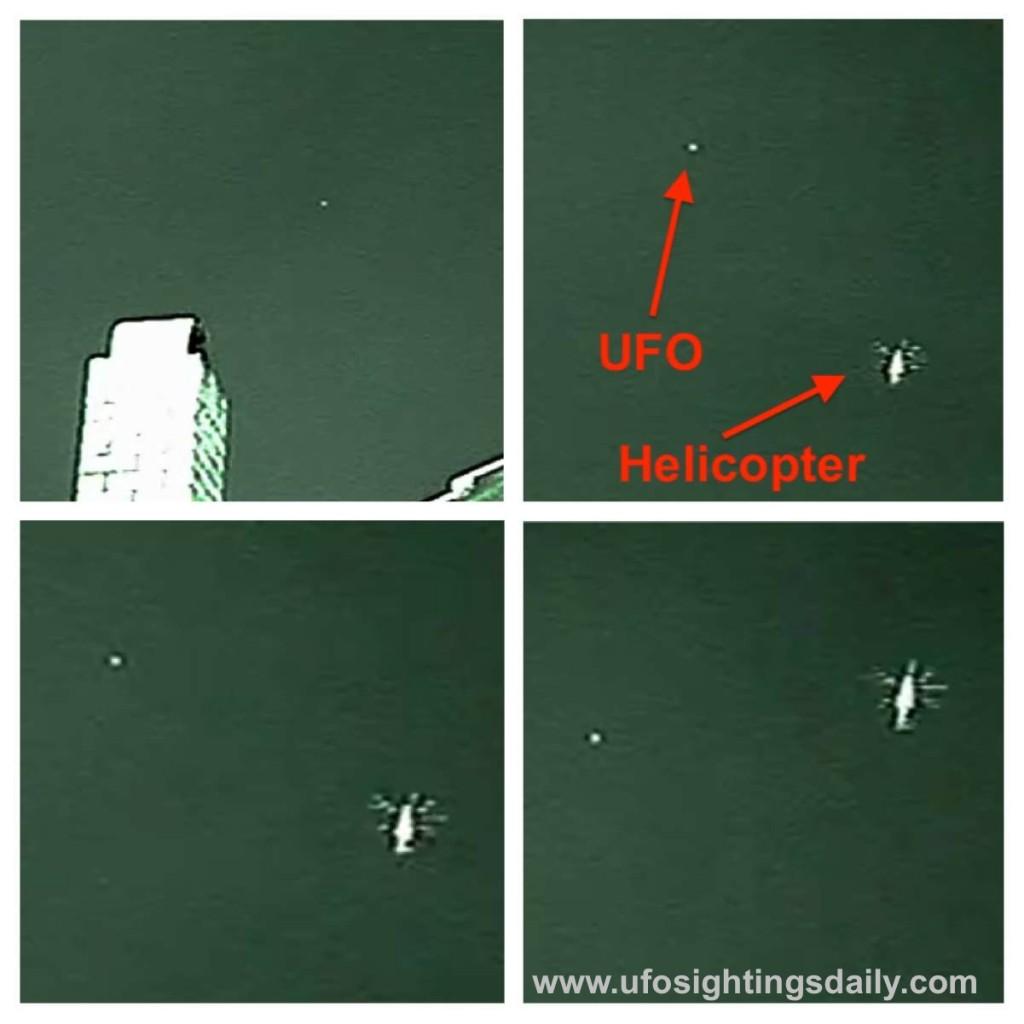 OVNI alrededor de helicóptero en Melbourne, Australia