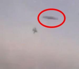 OVNIS durante el vuelo de un avión caza israelí
