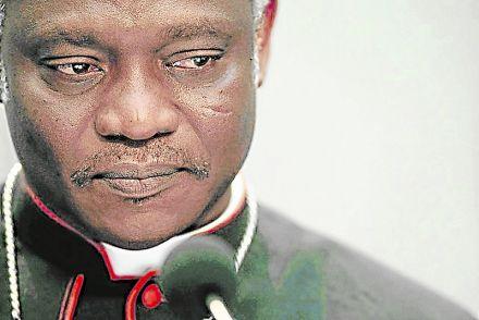 El cardenal Peter Turkson, para muchos el muy posible nuevo Papa