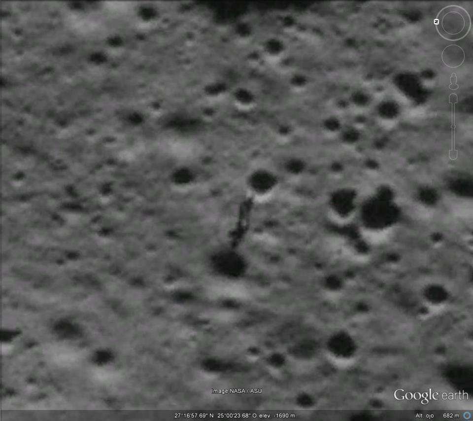 Anomalías en la Luna
