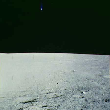 OVNI en la Luna - Marzo 2013