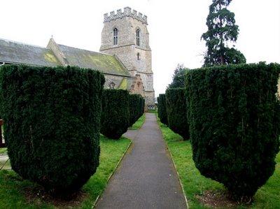 Iglesia de St Martin en Fornham St Martin. Foto original de Simon K