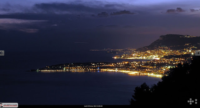 Avistamiento OVNI sobre Montecarlo, Mónaco