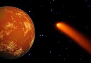 Cometa podría colisionar con Marte en 2014, creando un cráter de 500 kilometros