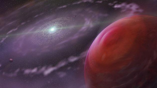 Localizan un exoplaneta con agua y monóxido de carbono en su atmósfera