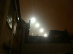Avistamiento OVNI sobre Ronse, Bélgica