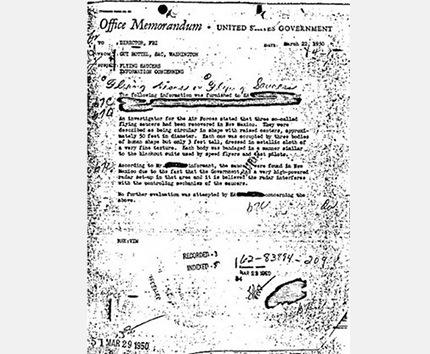 El FBI rompe su silencio sobre el informe de los ovnis en Nuevo México