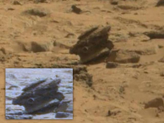 Anomalía en Marte