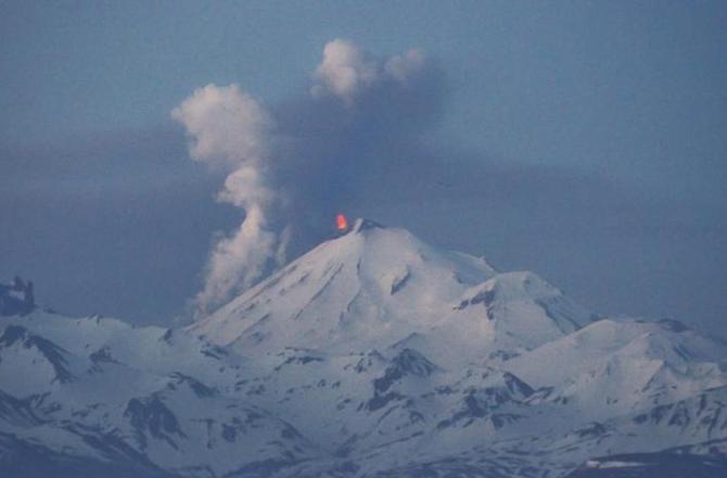 Volcanes en erupción alrededor del mundo