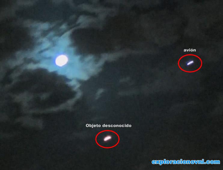 OVNI es grabado por familia en Israel